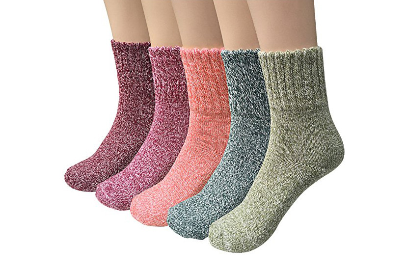 Bamboo vs wool socks are both unique socks with a different look. However, these wool socks may be itchy and uncomfortable.